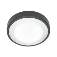 Mercator Orlando 22w T5 Circular Fluorescent Ceiling Light Graphite