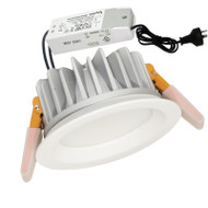 Eglo Bruno 13w 6500K LED Down Light White