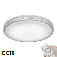 Telbix Amelia60 50w CCT LED Ceiling Light & Remote