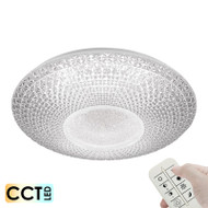 Telbix Greta52 50w CCT LED Ceiling Light & Remote