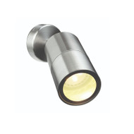 Brilliant Seaford LED Exterior Single Spotlight 316 Stainless Steel