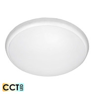 Apollo Saturn 30w TRI-COLOUR LED Ceiling Oyster White