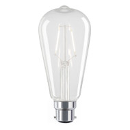 Liteworks 4w B22 LED Vintage Pear Shape