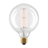 Liteworks 25w E27 Vintage Carbon G125 Large Sphere Shape