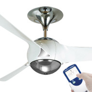 Ventair Eon 140cm White Plastic Blade Ceiling Fan