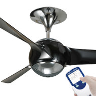Ventair Eon 140cm Gun Metal Plastic Blade Ceiling Fan