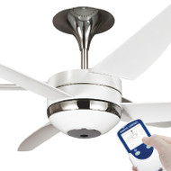 Ventair V6 140cm White Plastic Blade Dual Level Ceiling Fan