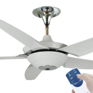 Ventair R8 140cm White Plastic Blade Ceiling Fan