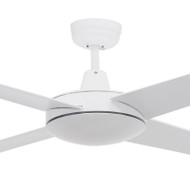 Airborne Ascot 132cm White Plastic Indoor/Outdoor Ceiling Fan