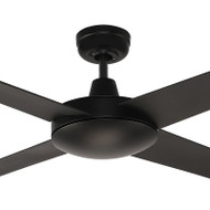 Airborne Ascot 132cm Black Plastic Indoor/Outdoor Ceiling Fan