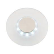 Mercator Lamont Round Low Profile Exterior LED Wall Light
