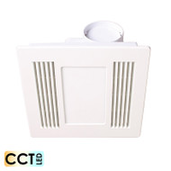 Mercator Aceline White Exhaust Fan & 14w CCT LED Light