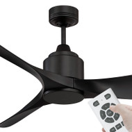 Mercator Eagle-XL DC Motor 167cm Black & Remote Ceiling Fan
