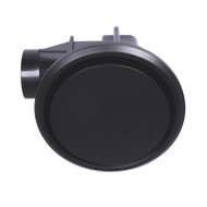 Mercator Novaline II Round/Round Black Exhaust Fan Small