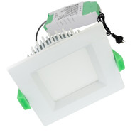 Plusrite AU12 12w 5000K Square LED Down Light White