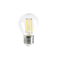 CLA 4w E27 LED DIMMABLE Clear Fancy Round 2700K Warm White