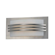 Telbix Umbo 1Lt Brushed Metal Wall Light