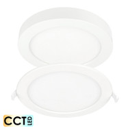 Brilliant Duet 12w CCT LED Down Light OR Surface Mount Panel