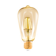 Eglo Warm 4w E27 LED Vintage Pear Shape