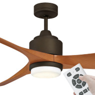Mercator Eagle-XL DC Motor 167cm Oil Rubbed Bronze LED Light & Remote Ceiling Fan