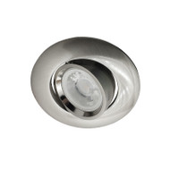 BP 3042A-GF GU10 LED Down Light Gimble Satin Nickel