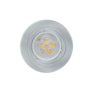 Basic MR16 LED Down Light Brushed Nickel