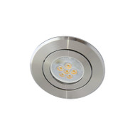 Atom AT1032 MR16 LED Aluminium Down Light Gimble Silver