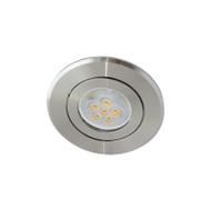 Atom AT1032 MR16 LED Aluminium Down Light Gimble Silver