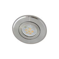 Atom AT1032 MR16 LED Aluminium Down Light Gimble 2 Tone Silver
