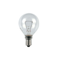 Duralamp 25w E14 Incandescent Fancy Round Clear