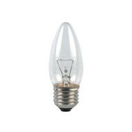 Duralamp 25w E27 Incandescent Candle Clear