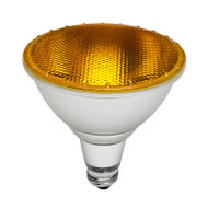 Brilliant 15w E27 LED PAR38 Yellow