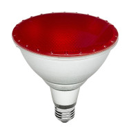 Brilliant 15w E27 LED PAR38 Red