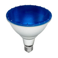 Brilliant 15w E27 LED PAR38 Blue