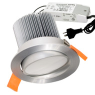 Eglo Phantom 15w 6500K LED Down Light Gimble Anodised Aluminium