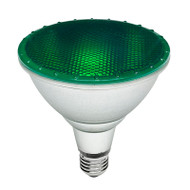 Brilliant 15w E27 LED PAR38 Green