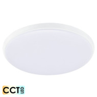 Eglo Ollie 28w CCT LED Ceiling Oyster White