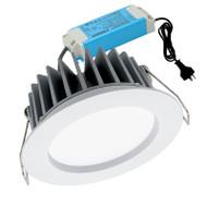 Mercator Optica 10w 3000K LED Down Light White