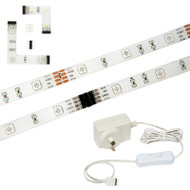 Brilliant 5w X 2.4m LED Modular Strip Kit 3000K Warm White