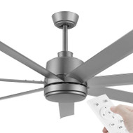 Eglo Tourbillion DC Motor 152cm Titanium & Remote Ceiling Fan