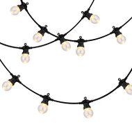 Mercator LED Festoon 10lt 15m Kit 3500K Warm Clear