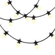 Mercator LED Festoon 10lt 15m Kit 3500K Warm Frost