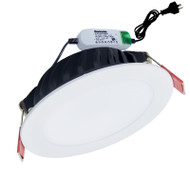 Envirostar Flat 100 12w 3000K LED Down Light White