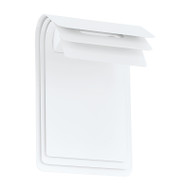 Eglo Sojo LED Exterior Wall Light White
