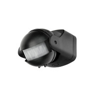 Brilliant Uniscan 180 Degree PIR Motion Sensor Black