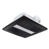 Brilliant Solace 4-in-1 Black Exhaust Fan Light & Heater