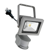 Mercator Lorne 15w 5500K LED Flood Light & Sensor Silver