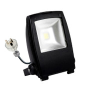Atom AT7002 30w 5000K LED Flood Light Black