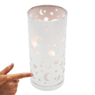 Mercator Starlight Touch Lamp Chrome