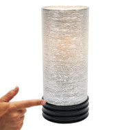 Mercator Tulip Multi Stage Touch Lamp Black